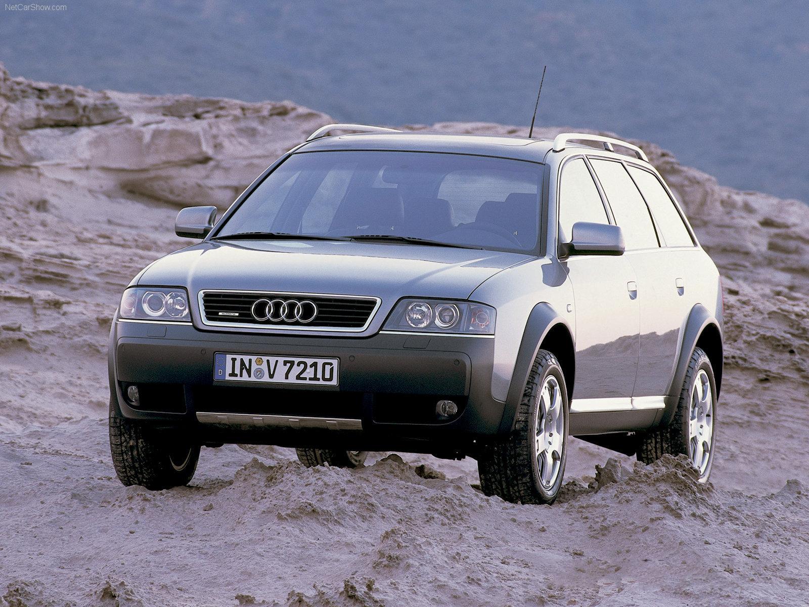 Audi allroad quattro 2 5 tdi front view
