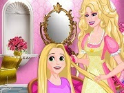 Barbie Princess Hair Salon