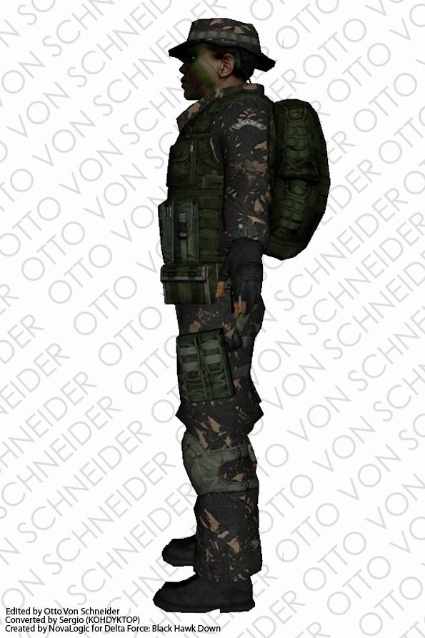 Skin Ex 233 Rcito Soldado Selva Datp Mods Mods Para Gta Sa