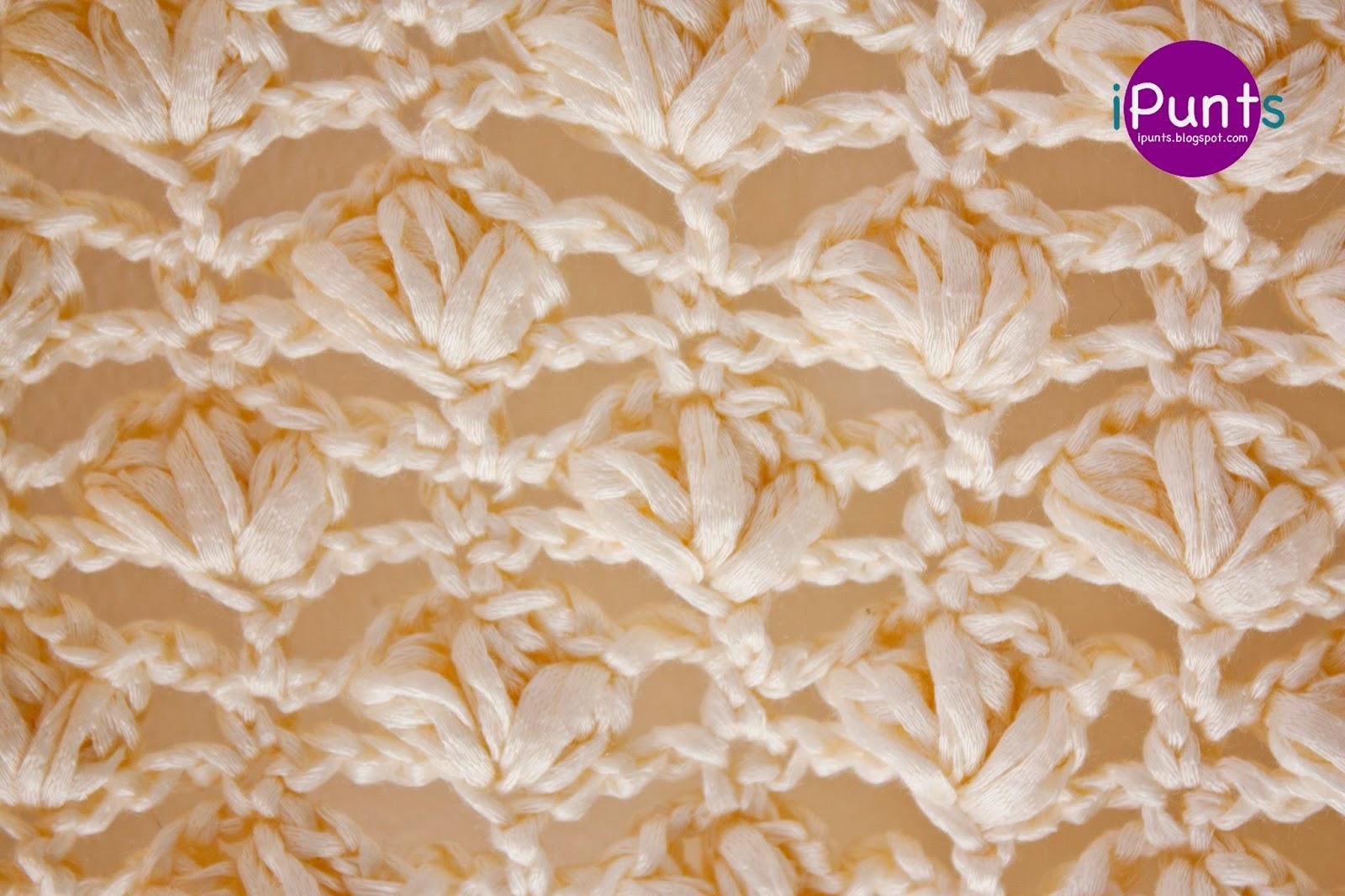 Chal Silvester Punto Flor de Crochet Paso a Paso Con Vídeo Tutorial