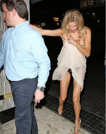 Brandi Glanville Drunk Wardrobe Malfunction