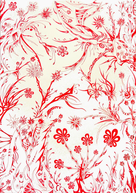 Dessins Fantastiques Jungle+rouge+1+web