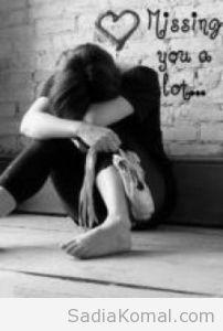 صورة حزن والم من شدة الاشتياق للحبيب