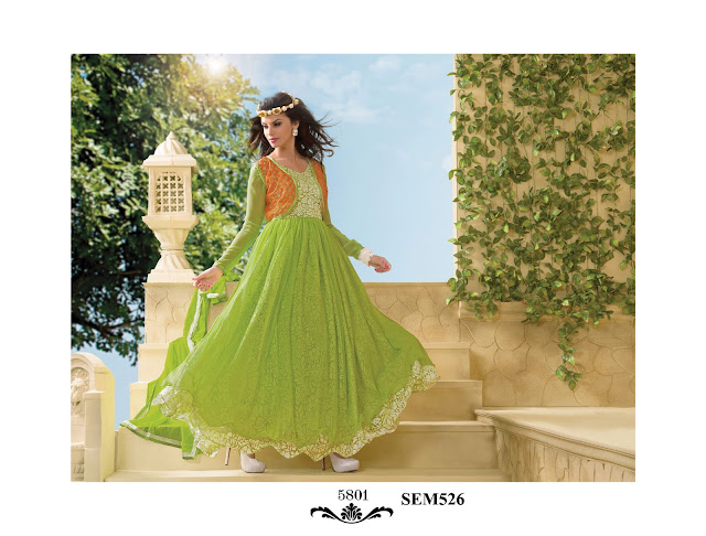 Latest Gown Style Floor Touch Anarkali Suit – Manufacturer