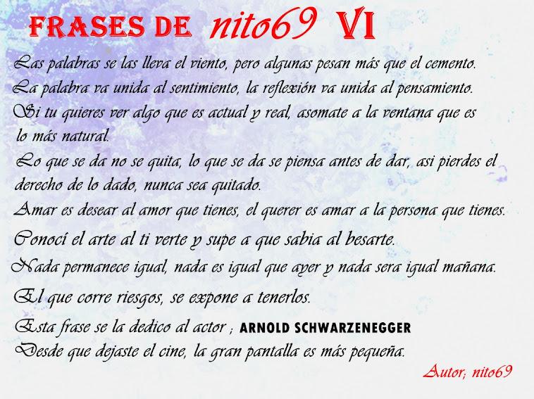 FRASES DE nito69 VI