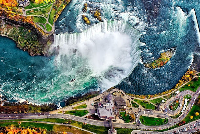 Cataratas do Niágara (em inglês: Niagara Falls)