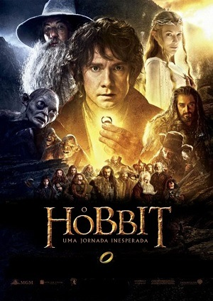 The Hobbit: An Unexpected Journey Extended Version Baixar torrent download capa