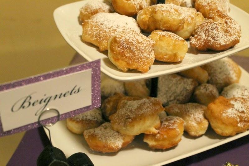 New Orleans dessert, Beignets, Mardi Gras