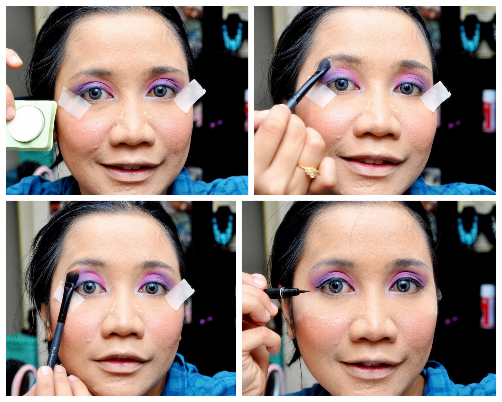 Emmalurvemekap TUTORIAL BARBIE DOLL INSPIRE MAKE UP