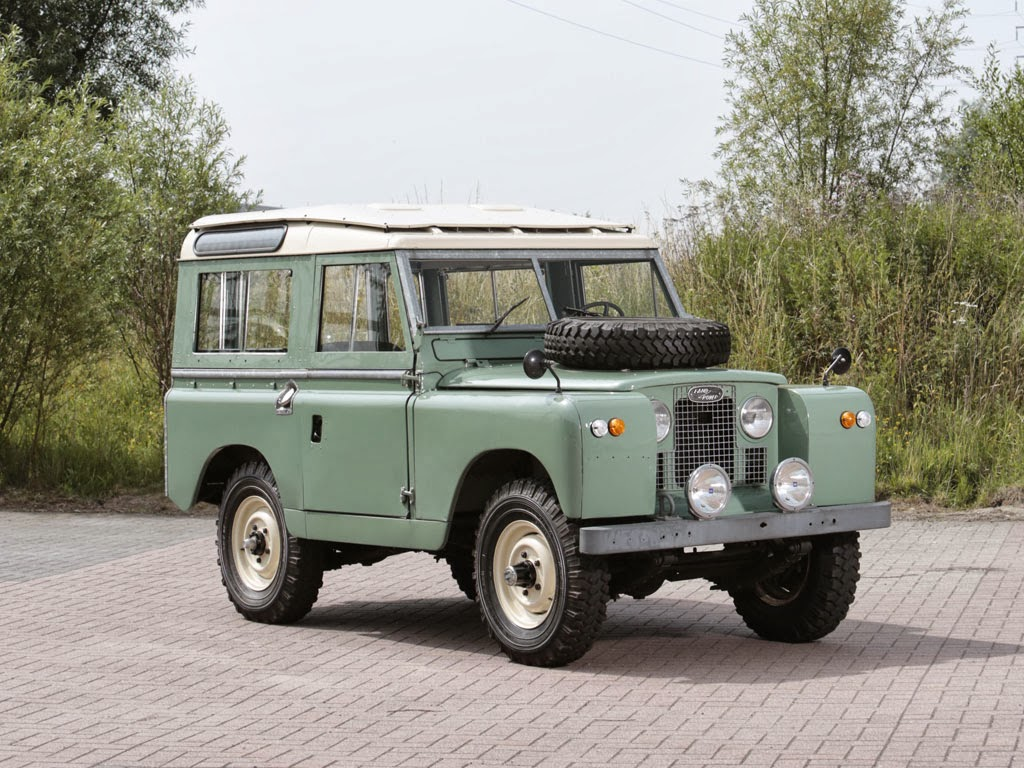 1968 land rover series iia 4x4 auto restorationice. Black Bedroom Furniture Sets. Home Design Ideas