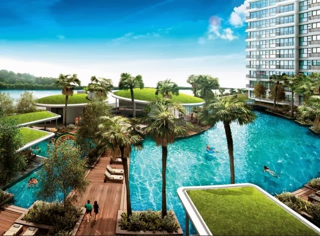 Rivertrees Residences water front living