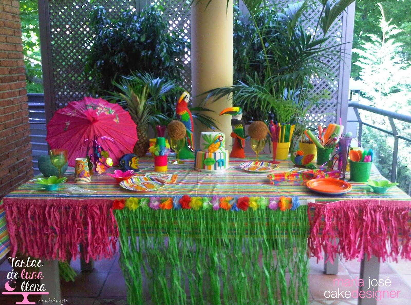 Decoracion hawaiana para imprimir - Fiesta hawaiana ideas decoracion ...