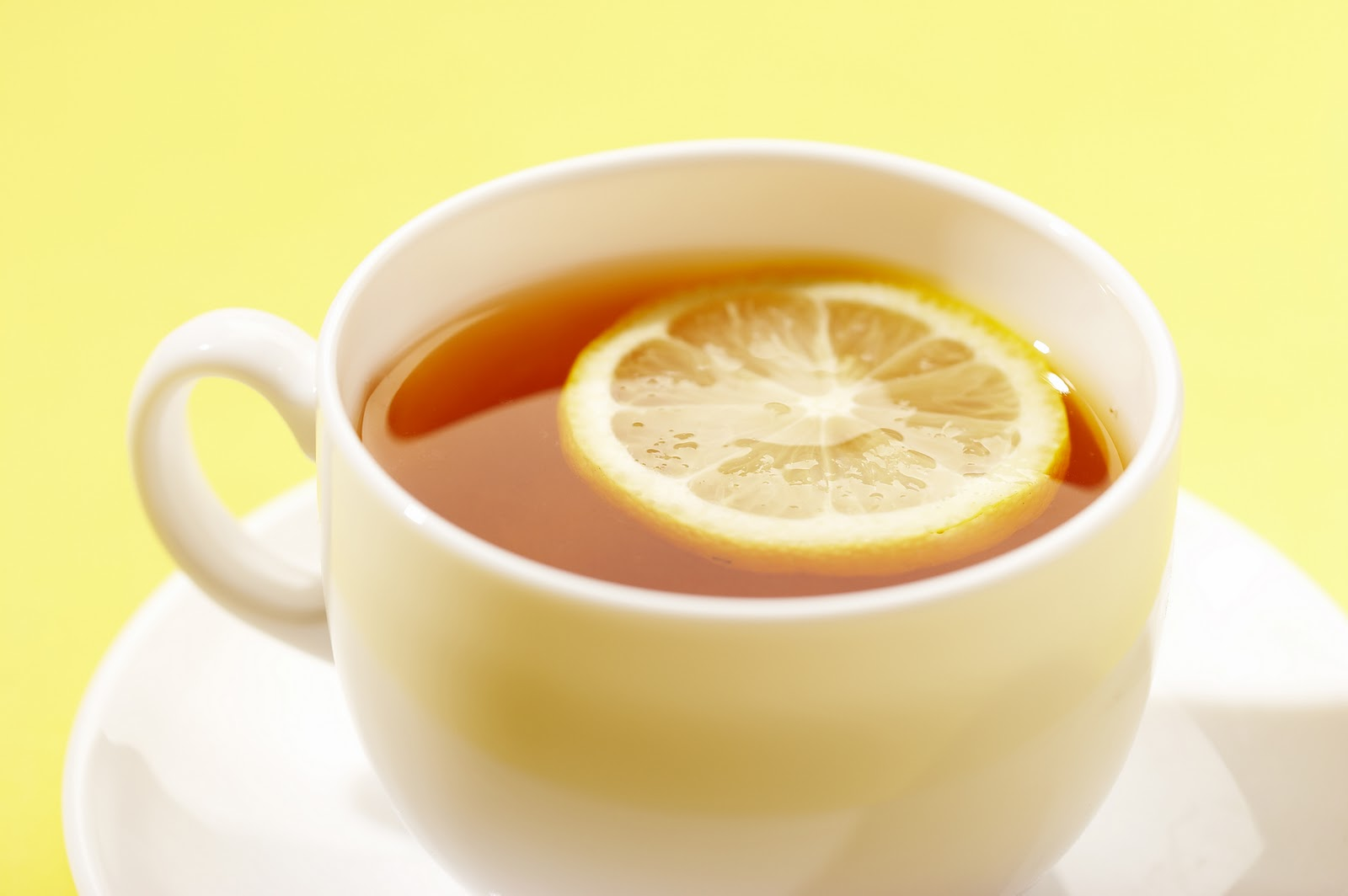 What I Did Today: Today I'm Sipping Lemon Tea with Honey.