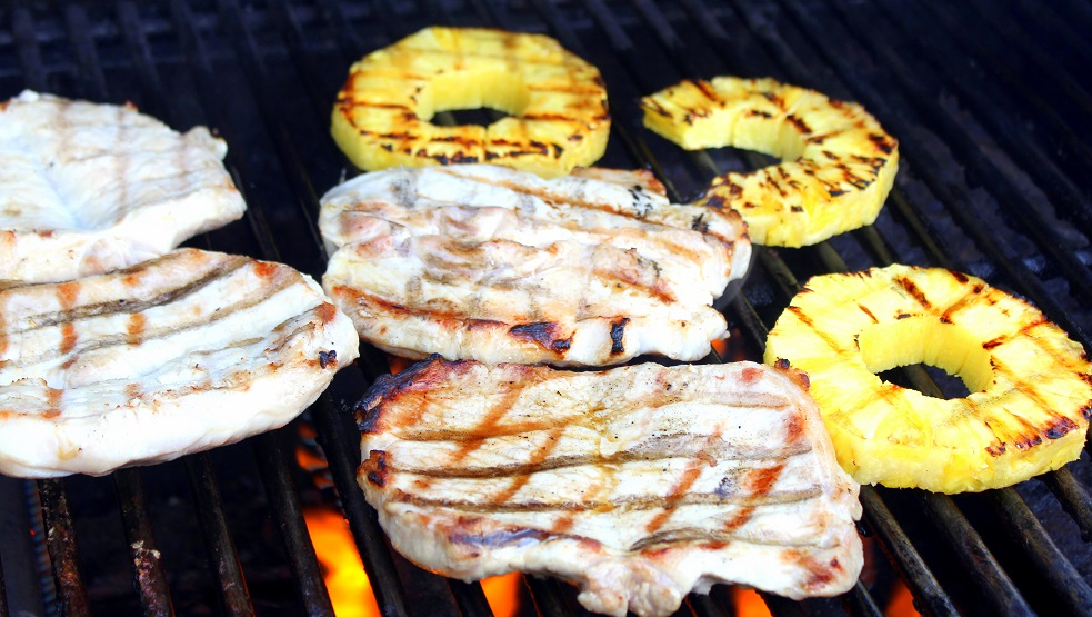 jerk pineapple pork chops recipes dishmaps jamaican jerk pork chops ...