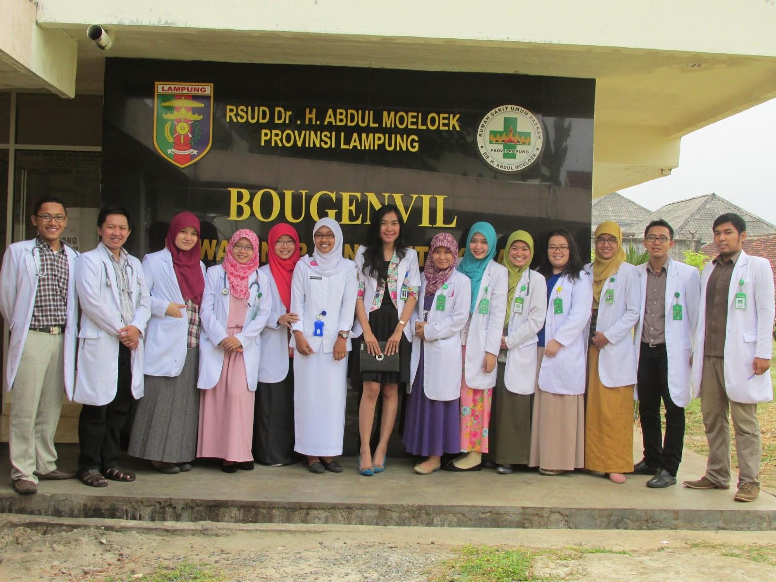 RSU Abdul Moeloek Provinsi Lampung menggelar Pelatihan Pencampuran Obat Suntik