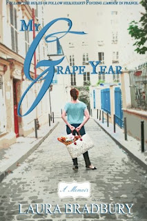 #FrenchVillageBookworm advent calendar review My Grape Year Laura Bradbury