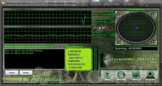 xParanormal Detector Pro 1.5 Full Serial 2