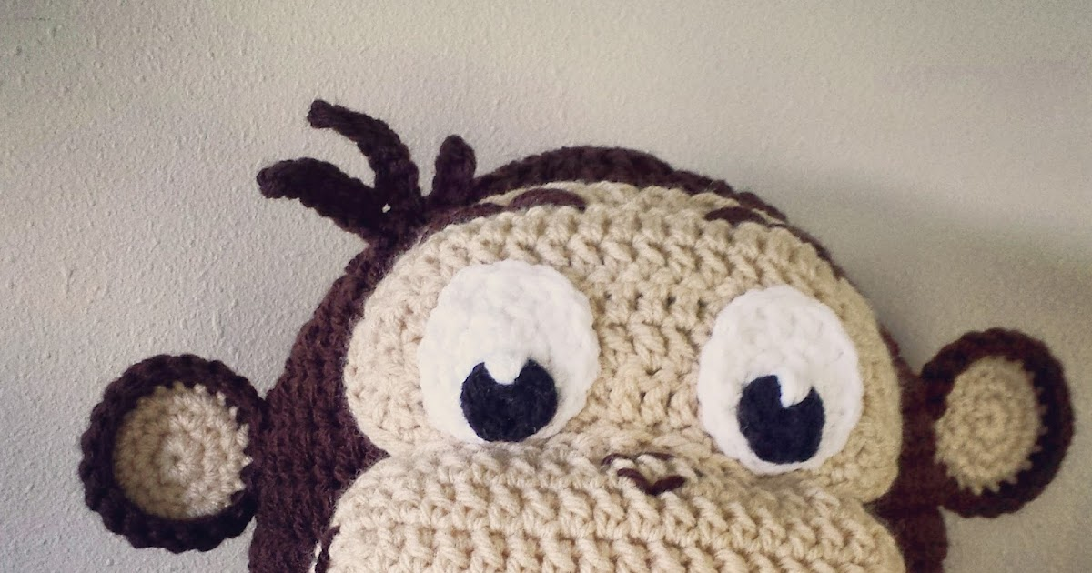Lovebugs And Monkeys Curious George Hat Free Crochet Pattern