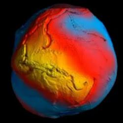 Mapa da gravidade da Terra 4