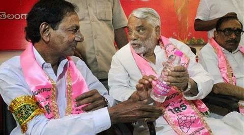 TRS leaders K C Rao and K K Rao