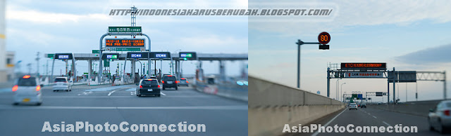 Japan toll road