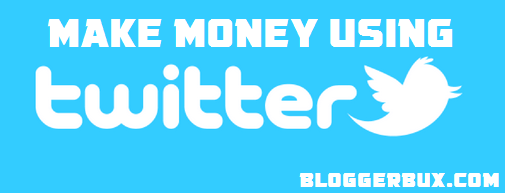 BloggerBux 50 ways to make money online - create page on twitter