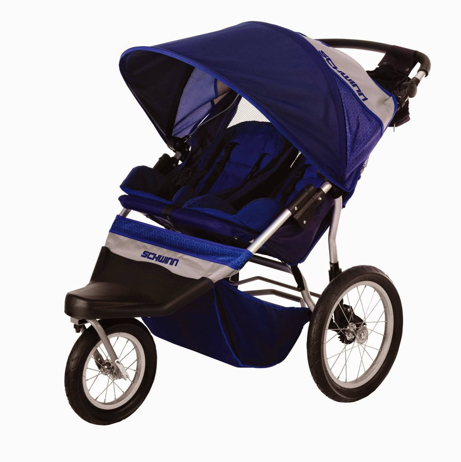If you are the type of parent that walks briskly or runs and jogs often, and would like your twins or two young kids to be your exercise partner, then you are need to Schwinn Free Wheeler 2 Double Swivel Wheel Jogging Stroller it's best option for you.