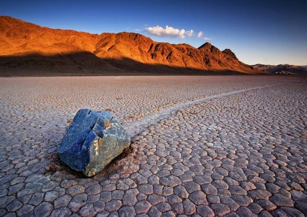 The Racetrack Playa, California