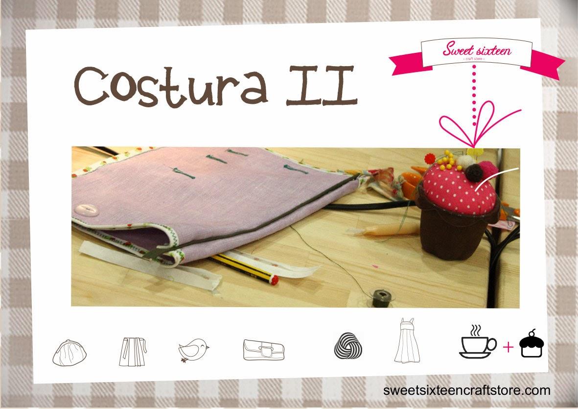 Taller monográfico Costura II Sweet sixteen craft store