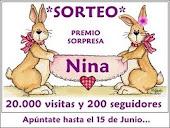SORTEO EN EL BLOG DE NINA
