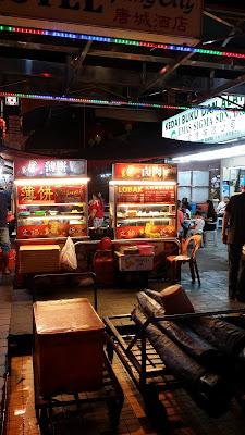 Puestecillos de comida en Kuala Lumpur
