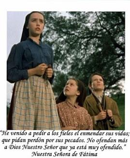 Mensaje de Nuestra Señora de Fátima