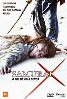 Samurai X: O Fim de Uma Lenda - DVDRip Dual Áudio