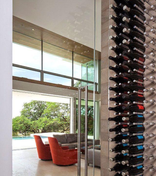Casa moderna en un vi edo de california arquitexs - Bodegas modernas ...