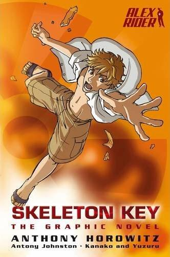 KISS THE BOOK: Skeleton Key: The Graphic Novel (Alex Rider ...