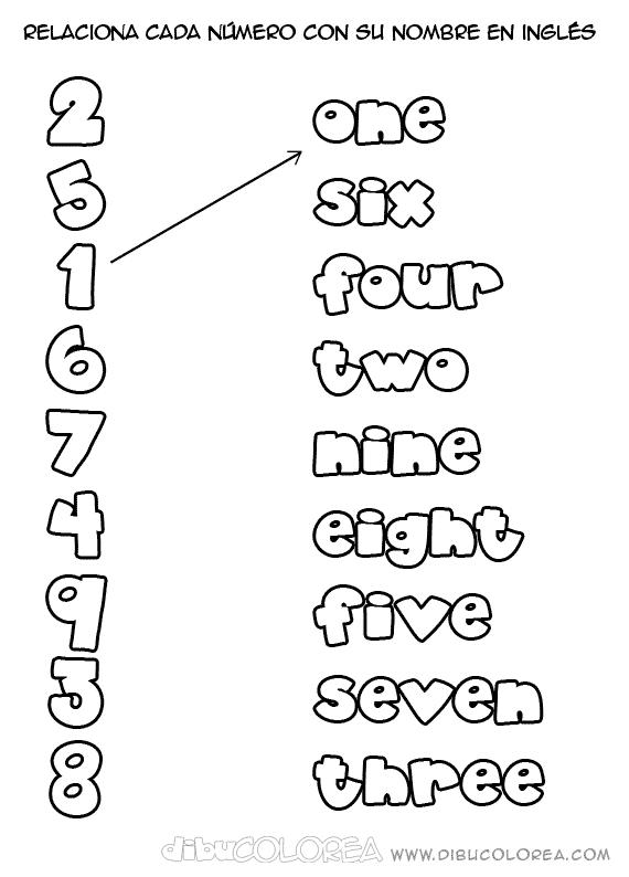Fichas infantil inglés imprimir - Imagui