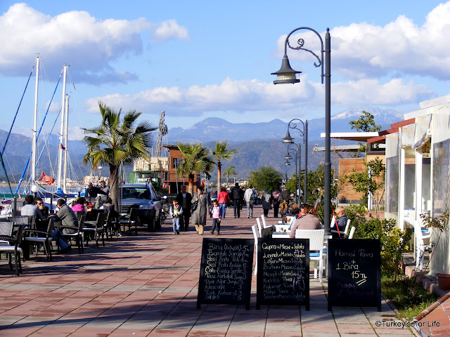 Kuzey Restaurant, Fethiye Harbour