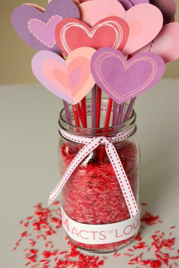 50 creative valentine day crafts for kids valentine for Valentine crafts for kindergarteners