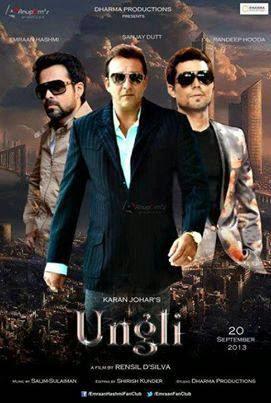 Ungli 2014 Hindi DVDRip 480p 300mb ESub