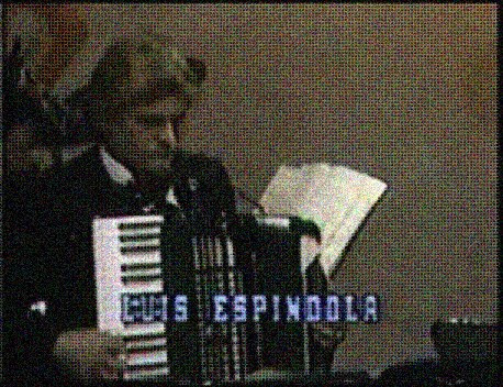 Jazz Accordionist, Luis Espíndola
