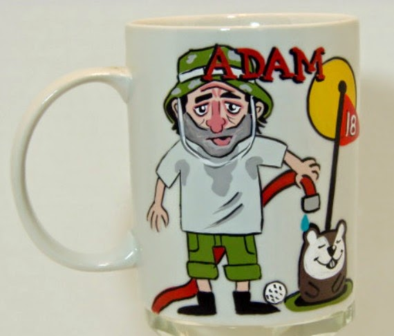 Caddy Shack personalized coffee mug
