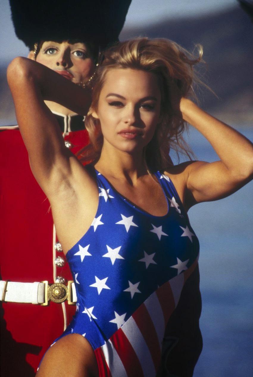 Памела Андерсон - 20 лет назад. Фото