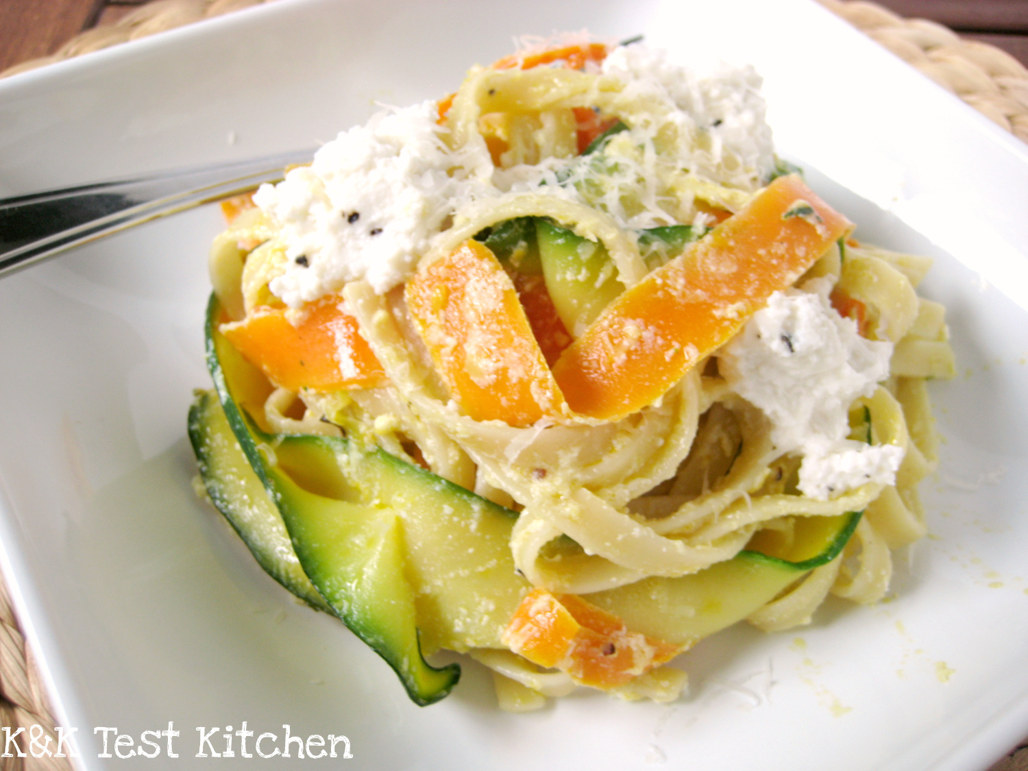 Test Kitchen: Zucchini and Carrot Ribbon Pasta