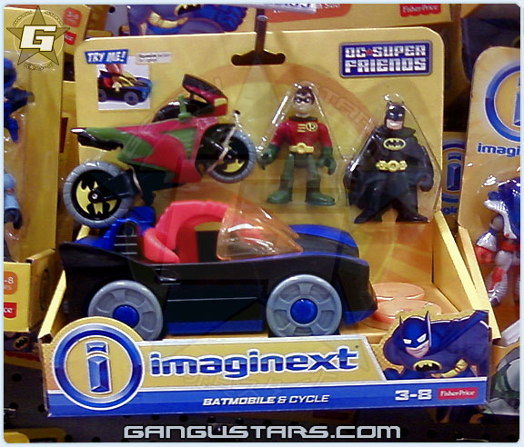 batman dc comics Fisher-Price imaginext super heroes  バットマン  イマジネックスト