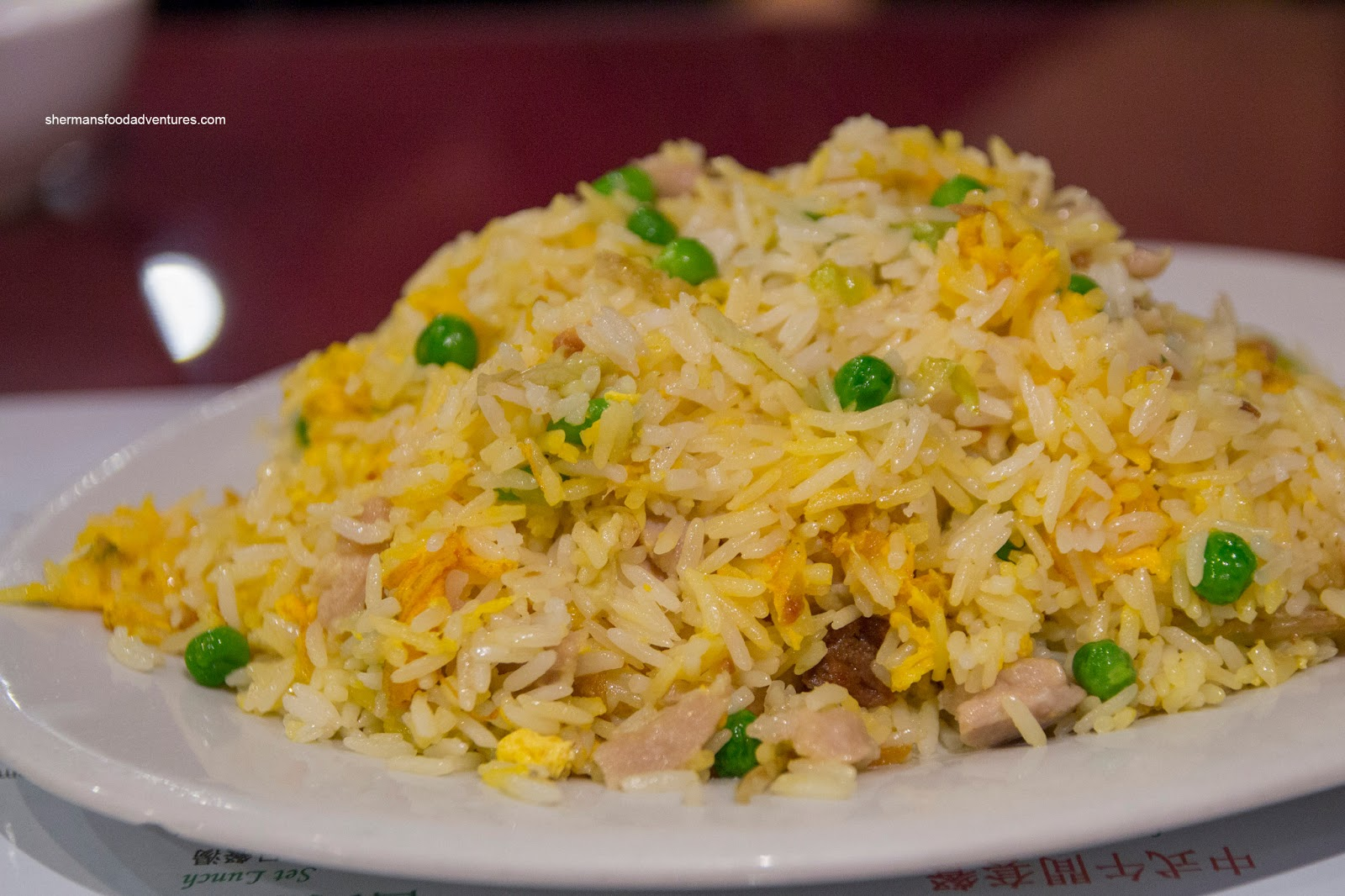 Sherman 39 s food adventures westwood cafe for Fish fried rice