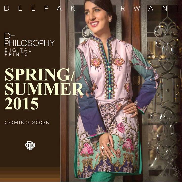 Deepak Perwani Spring Summer Collection