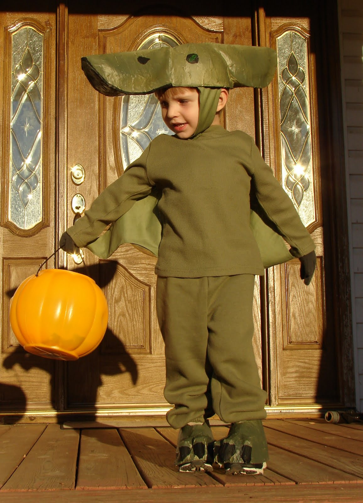 Homemade Pterodactyl Costume