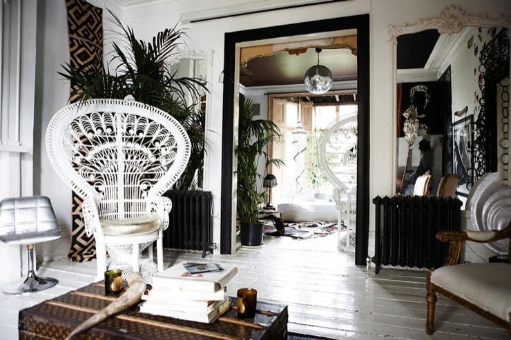 Minimalist Boho Home Decor: Boho White Interiors