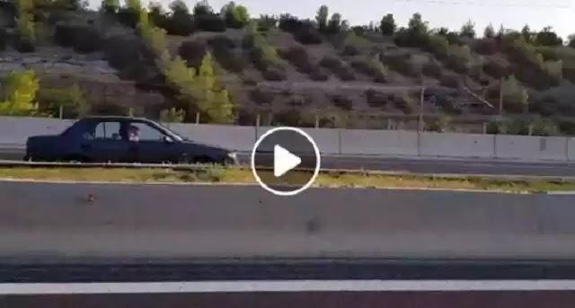 Οδηγούσε επί χιλιόμετρα σε αντίθετο ρεύμα στην Κορίνθου - Τριπόλεως...!!!