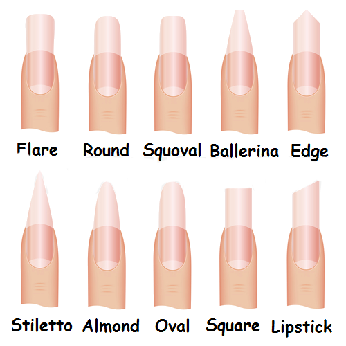 P 252 R Spa Nail Shapes